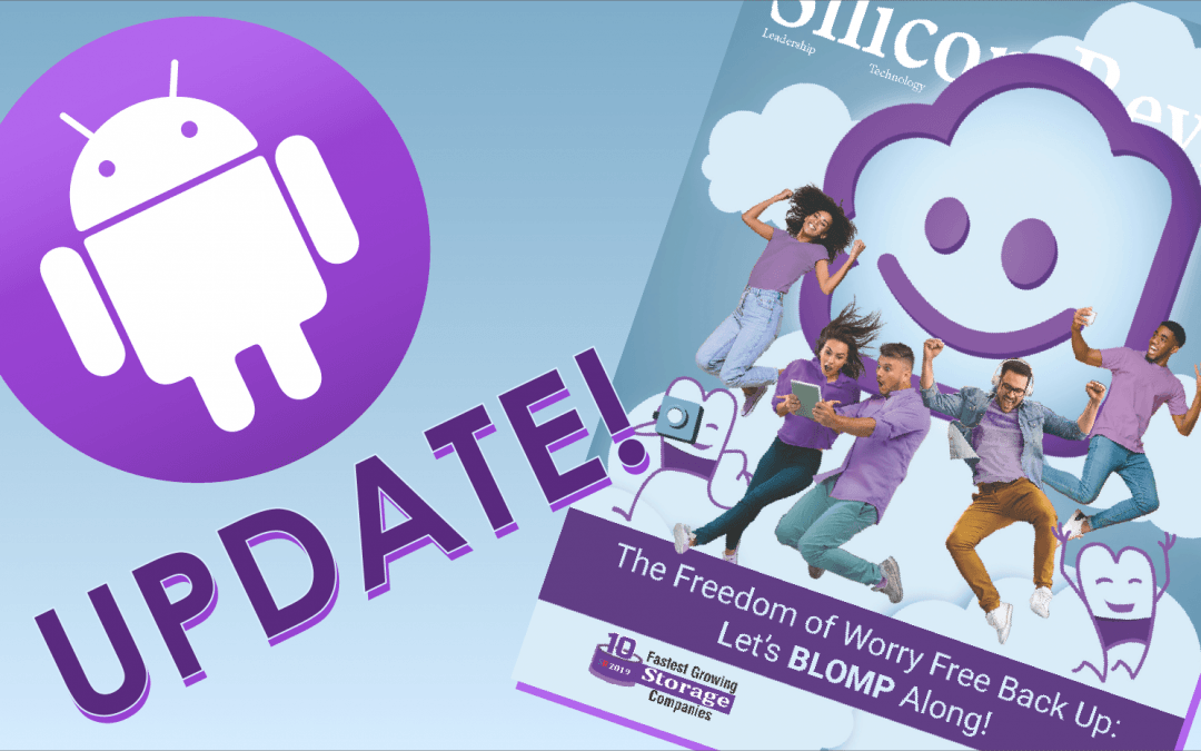Blomp is on Android & Cover of Silicon Review Magazine!